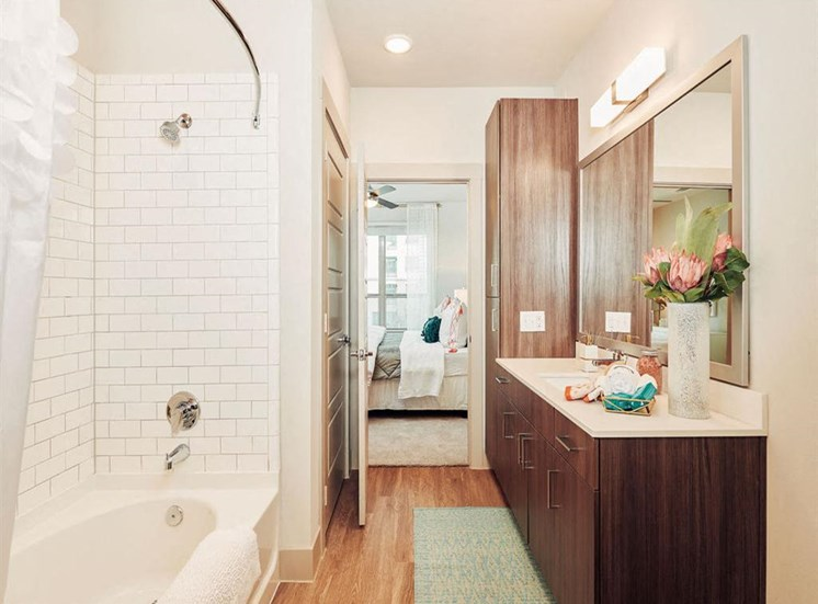 Attached Bathroom at Domain at The Gate, Frisco, TX, 75034