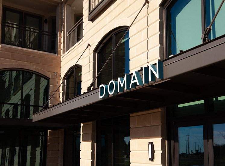 Property Sign at Domain at The Gate, Frisco, TX, 75034