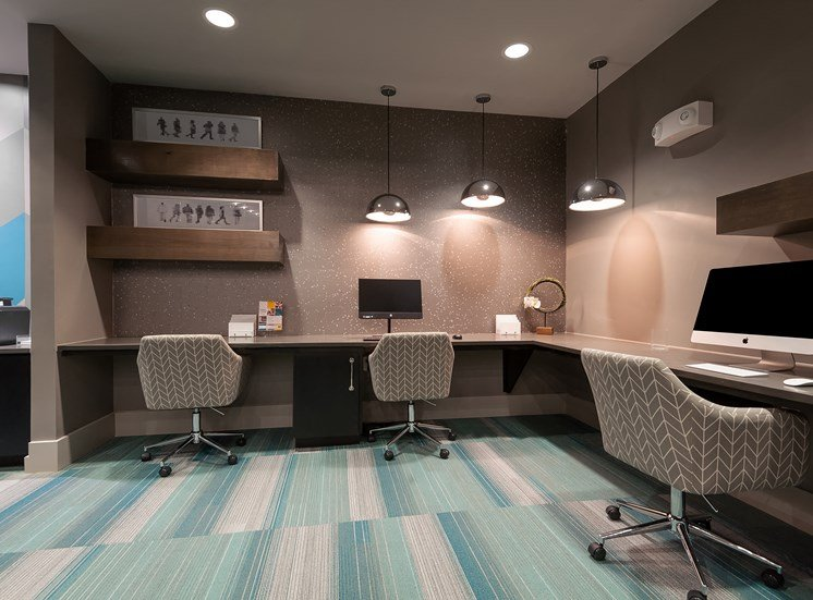 Separate Office Room at Everly Apartments, Houston