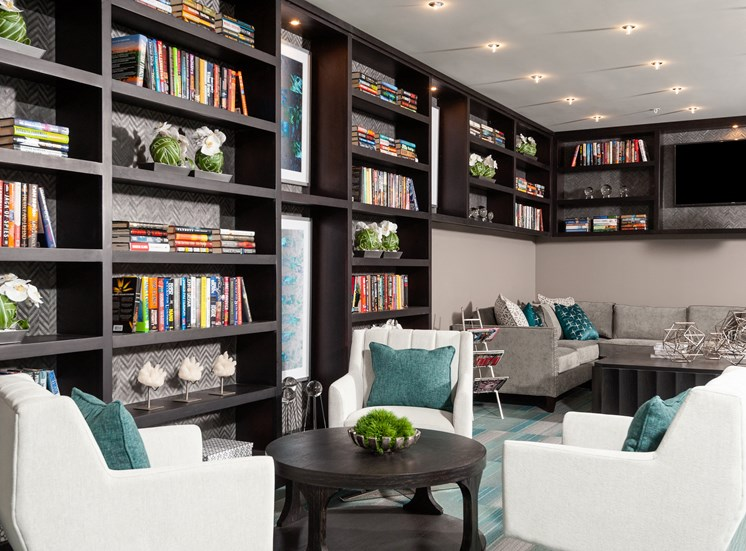 Peaceful Library at Domain at The Gate, Texas, 75034