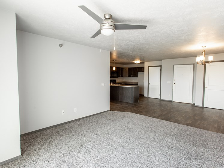 3 bed living area