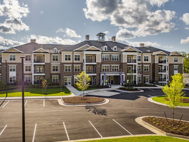 Off Street Parking Facility at Abberly CenterPointe Apartment Homes by HHHunt, Midlothian, VA, 23114