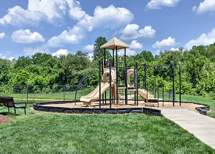 Playground for children's at Abberly Green Apartment Homes by HHHunt, Mooresville, NC