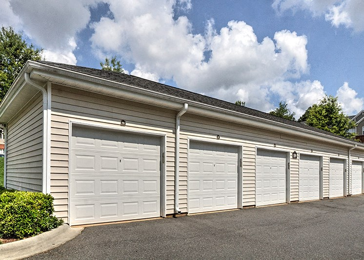 Covered parking for every floorplan at Abberly Green Apartment Homes by HHHunt, North Carolina, 28117