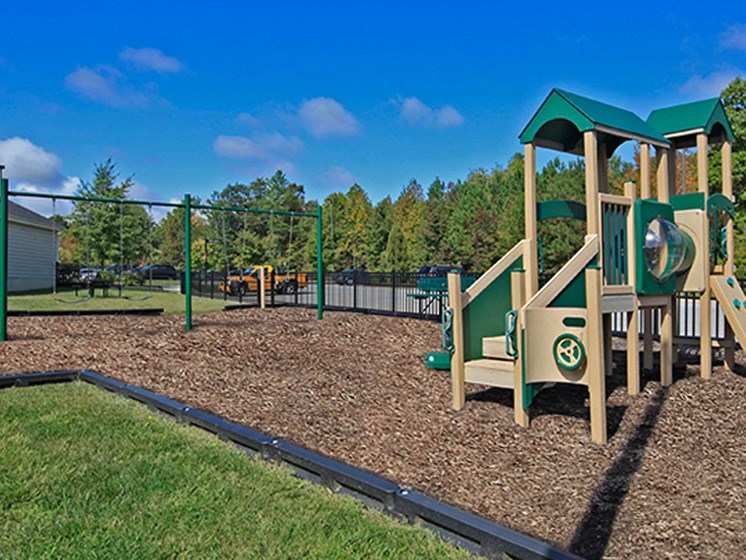 Outdoor Playset at Abberly Crest Apartment Homes by HHHunt, Maryland