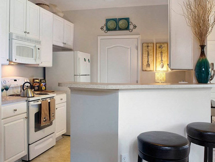 Sleek Interior Finishes at Abberly Crest Apartment Homes by HHHunt, Maryland