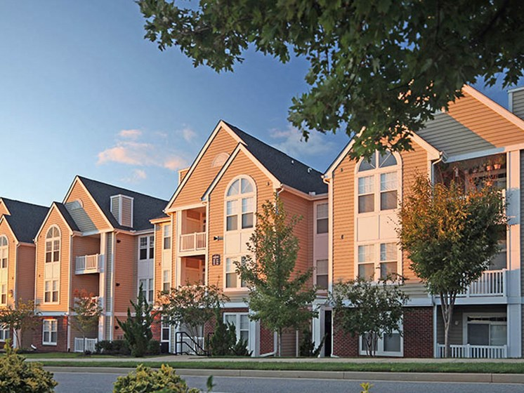 Beautiful Outdoor Space at Abberly Crest Apartment Homes by HHHunt, Lexington Park, MD, 20653