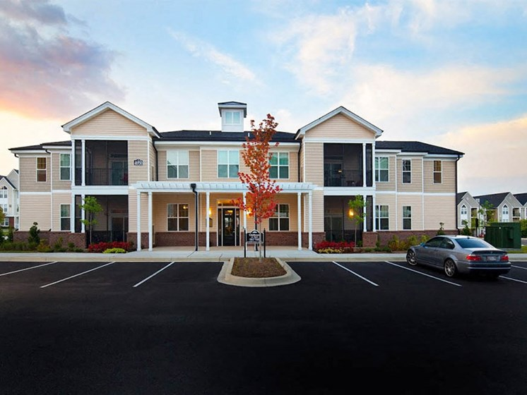 Open Parking Spaces at Abberly Crest Apartment Homes by HHHunt, Lexington Park, MD
