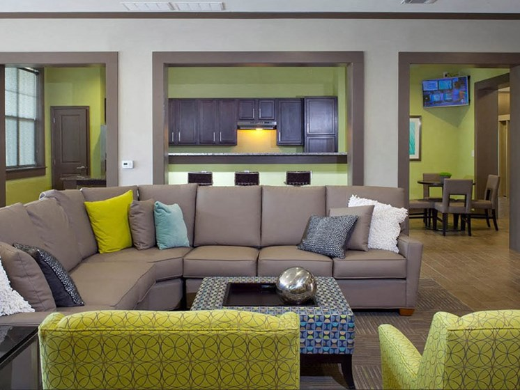 Movie Watching Area at Abberly Crest Apartment Homes by HHHunt, Lexington Park, Maryland