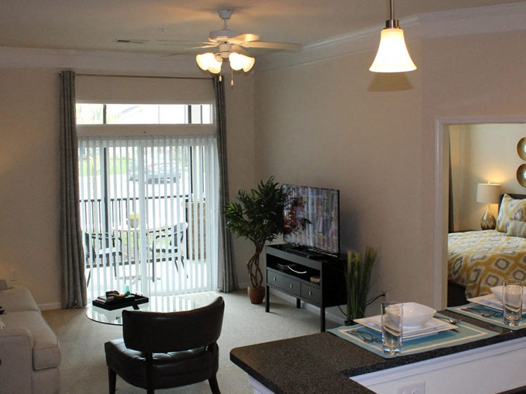 Living Room Remodel at Abberly Crest Apartment Homes by HHHunt, Lexington Park, 20653