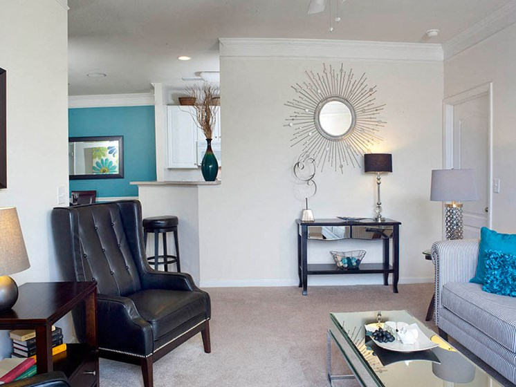 Lush Wall to Wall  Carpeting at Abberly Crest Apartment Homes by HHHunt, Lexington Park, MD, 20653