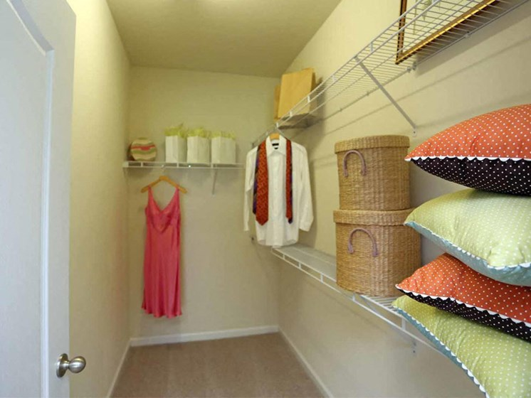 Large Closets at Abberly Crest Apartment Homes by HHHunt, Maryland