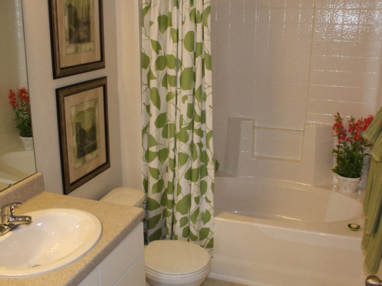 Shower Enclosures at Abberly Crest Apartment Homes by HHHunt, Maryland, 20653