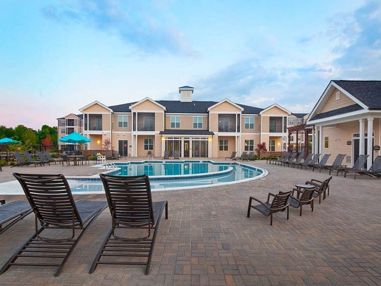 Umbrella by the Pool at Abberly Crest Apartment Homes by HHHunt, Lexington Park, MD, 20653