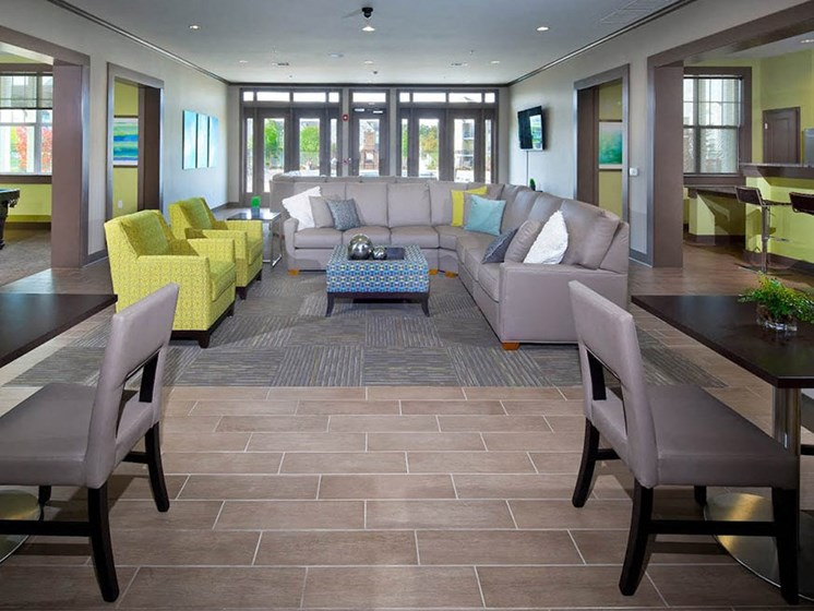 Clubhouse And Family Entertainment Area at Abberly Crest Apartment Homes by HHHunt, Lexington Park, MD, 20653