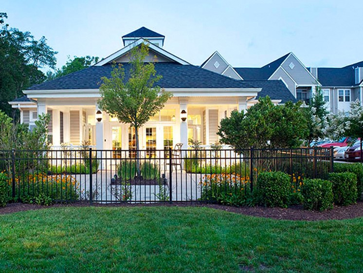 Beautifully Landscaped Grounds at Abberly Crest Apartment Homes by HHHunt, Lexington Park, MD