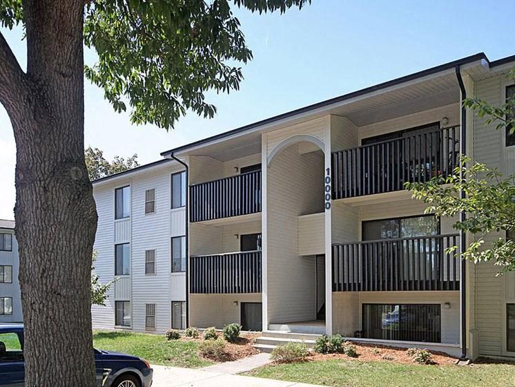 Build a Garden Path at Hethwood Apartment Homes by HHHunt, Blacksburg, 24060