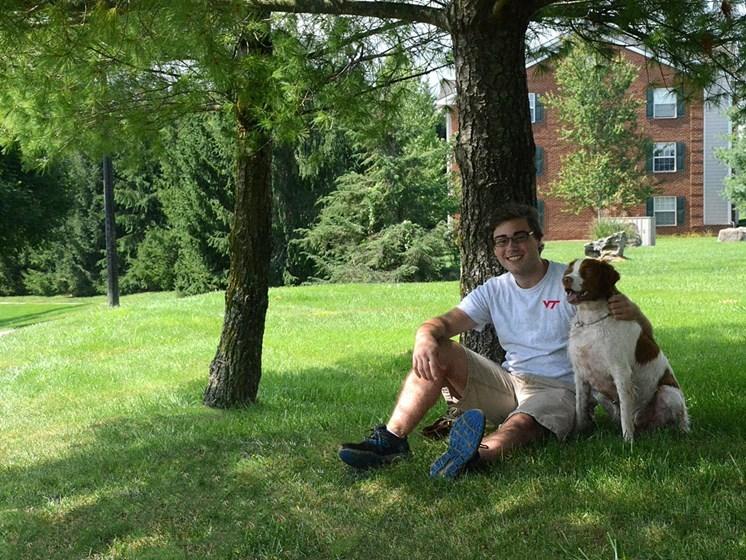 Pet Friendly Community at Hethwood Apartment Homes by HHHunt, Blacksburg, VA, 24060