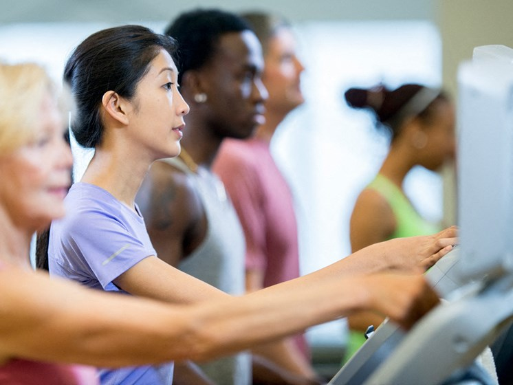 State-of-the-Art Fitness Center at Hethwood Apartment Homes by HHHunt, Virginia, 24060
