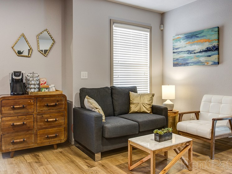 furnished office at Quail Creek Apartments