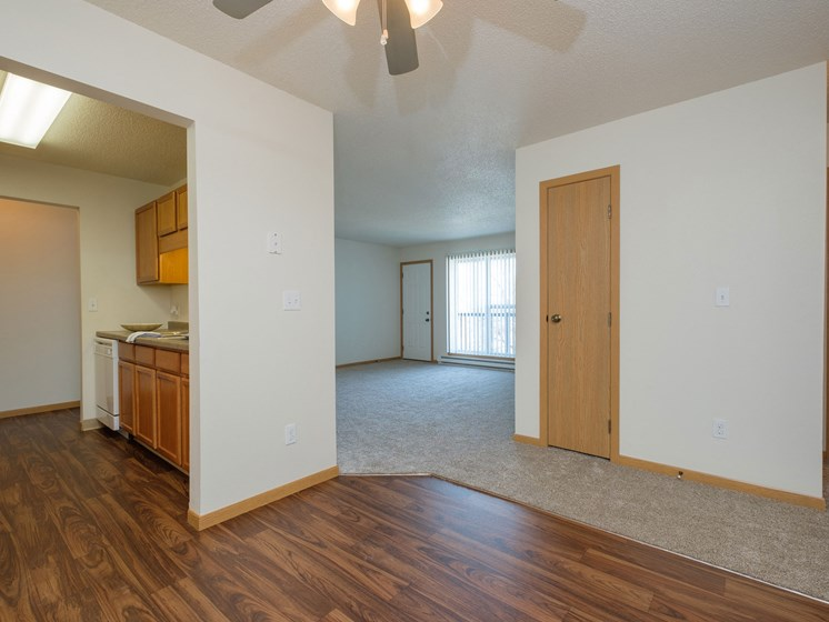 Essex Apartments   2 Bedroom-306   Dining-Living