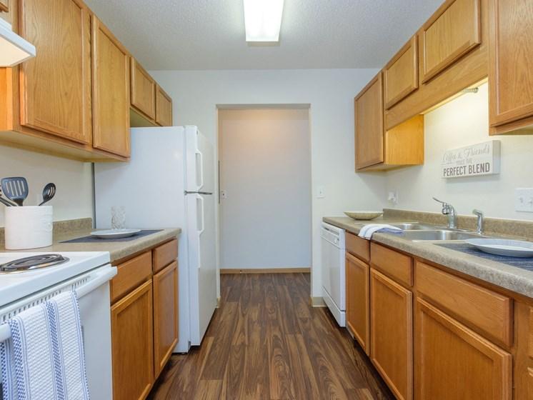 Essex Apartments   2 Bedroom-306   Kitchen