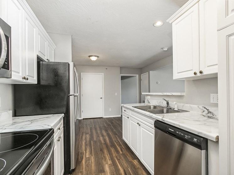 Deluxe apartments kitchen