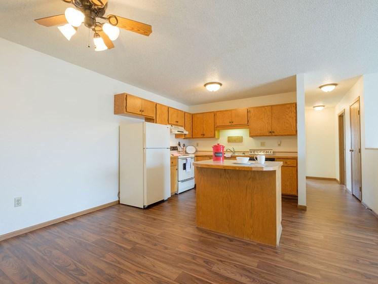 Hunters Run Apartments   2 Bedroom-302   Kitchen-Dining