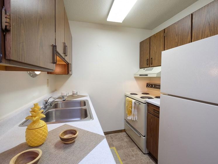 Prairie One Apartments   2 Bedroom-02   Kitchen