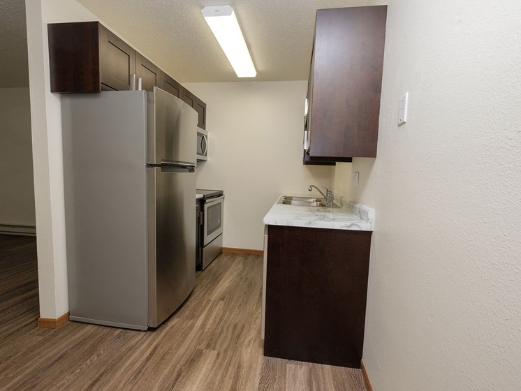 Prairie One Apartments   Two Bedroom   Kitchen