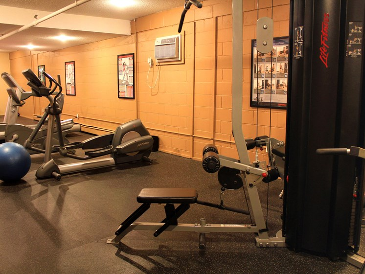Rosedale Apartments | Fitness Center