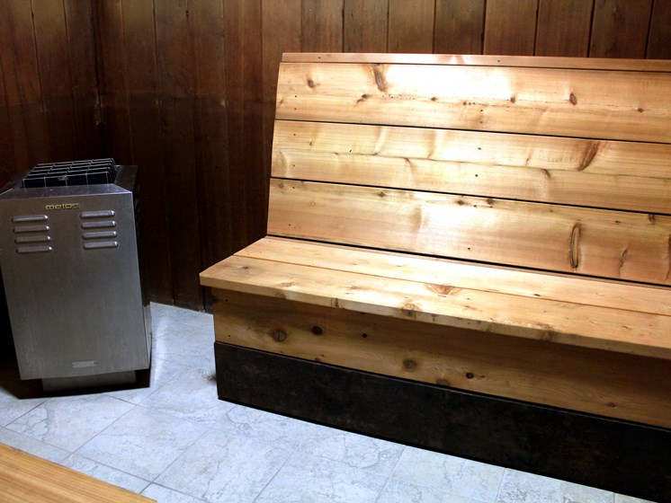 Rosedale Apartments | Sauna
