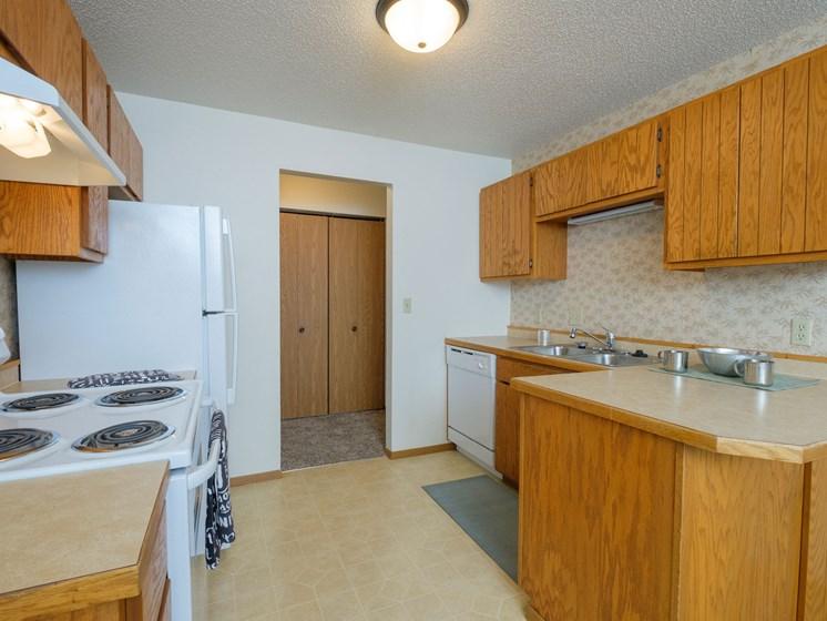 Sugar Plum Apartments   2 Bedroom-203   Kitchen