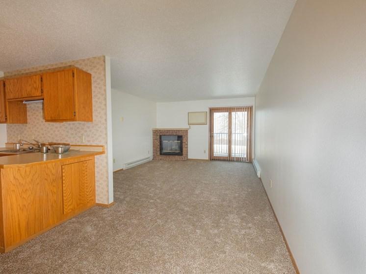 Sugar Plum Apartments   2 Bedroom-203   Dining-Living Rm