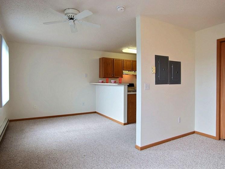 Sunwood Apartments   Efficiency   Living Space