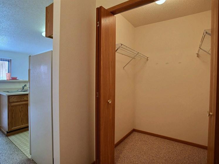 Sunwood Apartments   Efficiency   Storage Closet