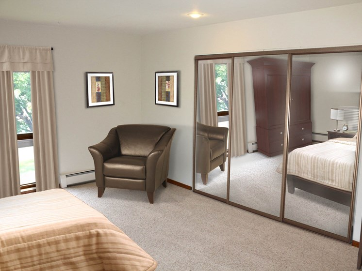 Valley View Apartments | Bedroom
