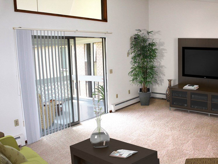 Valley View Apartments | Living Room
