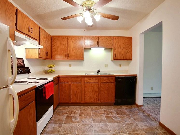 Westwood Estates Apartments | 1 Bdrm - Kitchen-Plan A