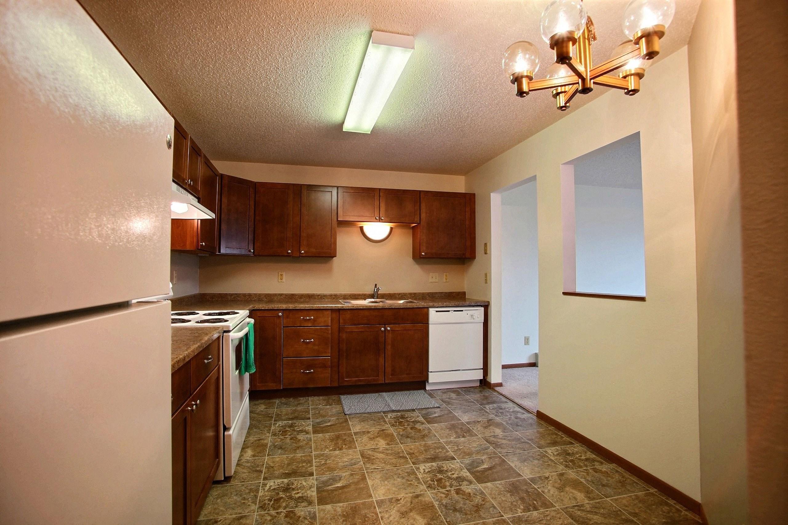 Westwood Estates Apartments | 2 Bdrm - Kitchen-Plan C