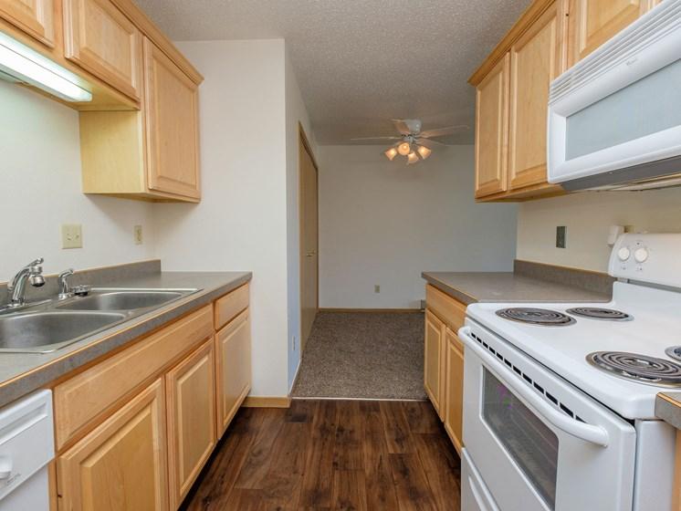 Windgate Apartments   2 Bedroom-203   Kitchen