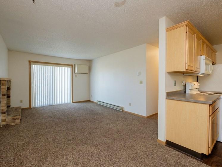 Windgate Apartments   2 Bedroom-203   Living Room