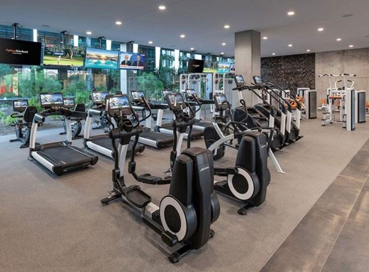 Optima Kierland Apartments' Gym Area