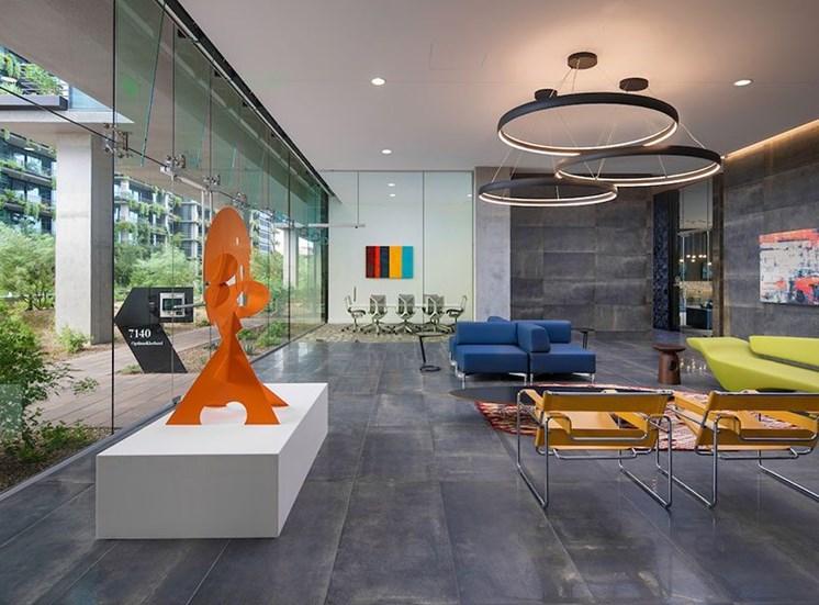 Optima Kierland Apartments' Lobby