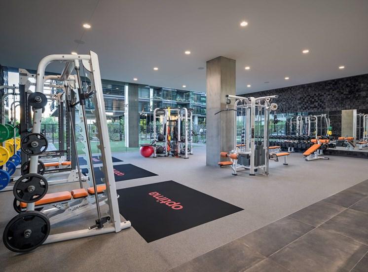Optima Kierland Apartments Gym