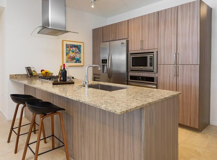 Optima Kierland Apartments' Kitchen