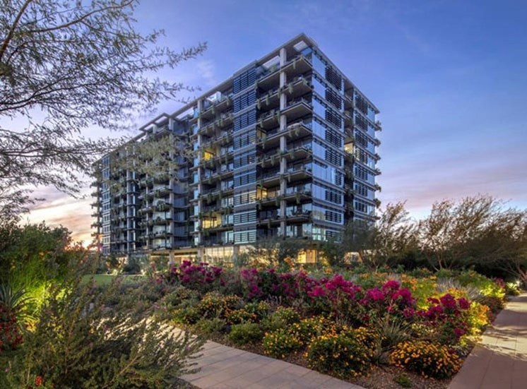 Optima Kierland Apartments from outside
