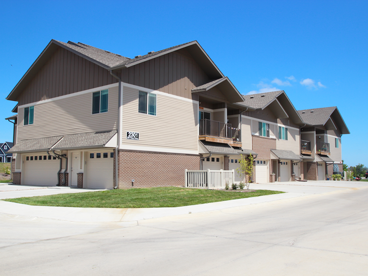 Property Exterior at the Sterling at Prairie Trail in Ankeny, IA