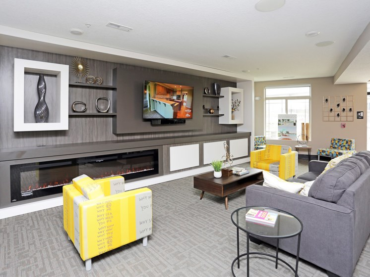 Community Clubhouse at the Sterling at Prairie Trail in Ankeny, IA