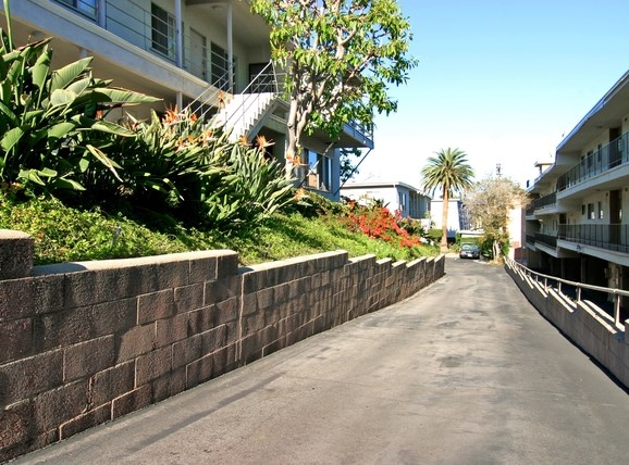 Overland Avenue Apartments | Los Angeles, CA | Entrance